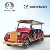 8 Seater New Energy Electric Classic Van Vintage Cart Golf Buggy