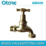 Brass Bibcock Hose Bibcock Polished Thread Outlet