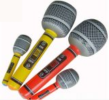 Inflatable PVC Toy Microphone Musical Instruments