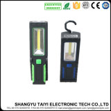 4.5V 4PCS+COB LED Magnetic Camping Working Light