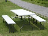 Fashionable Outdoor Table Bench, Outdoor Furniture, Dining Table Benched for Garden Banquet Party
