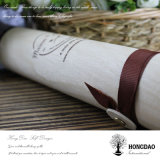 Hongdao Balsa Wooden Very Thin Tree Bark Macarons Packing Box Wholesale_F