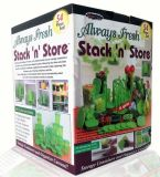 Stack N Store Spinner, 54PC Fresh Container (TV195)