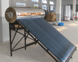 Vacuum Tube Stainless Steel Compact Unpressurized Solar Heater