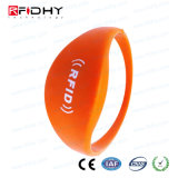 Em4200 Long Distance Contactless RFID Silicone Wristband Watch Band Tag