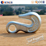 Carbon Steel Lifting Galvanized Chain Eye Grab Hook