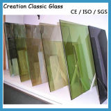 Low-E/Reflective Tempered Glass for Building Glass/Decorative Glass with Ce & ISO9001
