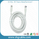 Low Cost Coaxial Cable Rg59 RG6 with F Connectors (RG59)
