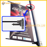 Metal Street Pole Advertising Banner Base (BS-HS-017)