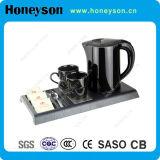 Honeyson Black Kettle Tray Set with Double Body Designed