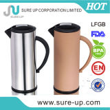 Straight Body Color Metal Printed Vacuum Coffee Tea Pot for Water Drinking