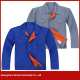 Custom Made High Quality 100% Cotton Twill Working Wear for Men and Women (W124)