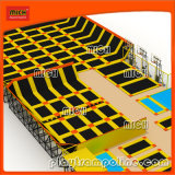 Kids Indoor Discounted Bounce Equipment Trampoline for Body Building