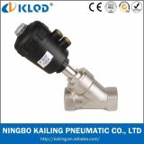 Chinese Wholesale Low Price Valves Stainless Steel Actuator Angle Seat Valve