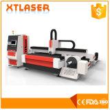 Pipe Plate Cutting Machine 500W Metal Tube Fiber Laser Cutting Machine Ce FDA SGS Certificate