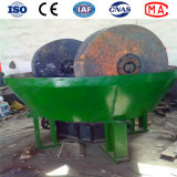 High Quality Cone Wet Pan Mill Grinding Machine for Gold Beneficiation