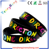 Embossed/Debossed Silicon Rubber Wrist Band for Promotional Gifts