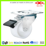 White Plastic Caster Wheel (P106-30C075X32Z)