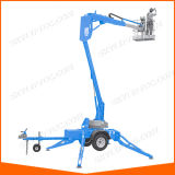Ce Certificate Trailer Mounted Aerial Boom Lift