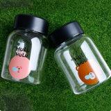 260ml Carton Sport Bottle Sealed Glass Jar Candy Jar