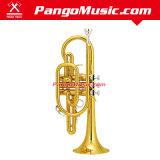 Bb Tone Brass Body Cornet (Pango PMCR-450)