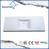 Sanitaryware Artificial Marble Bathroom Sink and Vanity Top Acb9312