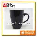 Black Glazed Porcelain Mug of Syb002