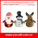 Christmas Decoration (ZY15Y012-1-2-3) Christmas Gift Ornament Craft Art Product