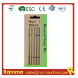 2 in 1 Paper Ball Pen and Highlighter