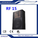 Latest Technology (RF 15) Single 15 Inch Professional Speaker Audio Equipment