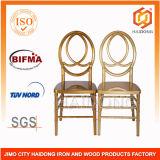 Outdoor Furniture Gold Plastic Wedding Phoenix Chairs
