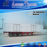 Tri-Axle 16m Cargo Box Trailer, Dry Van Semi Trailer