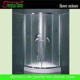 Low Tray Quadrant Glass Double Sliding Shower Enclosure (TL-535)