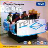 Professional China 9d Virtual Reality Egg Cinema for Entertainment