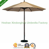 2.5m Garden Wooden Umbrella for Cafe (PU-02025A)