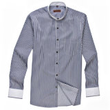 New Fashionable OEM Soft Cotton Stripped Shirt for Men