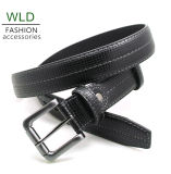 Classic and Basic Man Belt with Split Leather Linning M521
