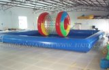 China Inflatable Pool 6ml X 6MW X 0.7mh, Can Made in Your Size, Inflatable Water Pool (D2008)