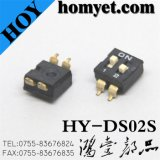 Popular 2.54mm Pitch 2-Gr SMD Switch with 2 Feets