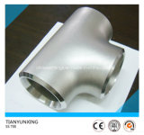 Butt Welding Seamless Duplex/Stainless Steel Pipe Fittings Tee