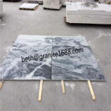 Decorative Natural Stone Wall Tiles Cloudy Grey Marble Tiles