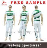 Healong 100% Polyester Fully Dye Sublimated Plus Size Cheerleading Set