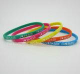 Wholesale Fashion Lovely Slim Silicone Bracelet (SIB037)