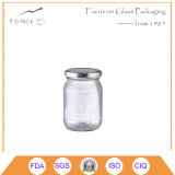Clear Glass Food Storage Container for Pickles