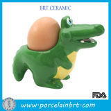 Novelty Alligator Ceramic Kitchen Egg Cup Holder