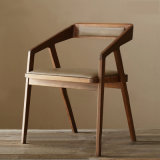 Nordic Style Modern Restaurant Wooden Dining Chair