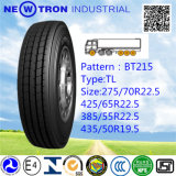 Bt215 Radial Truck Tyre for Directional and Steel Axle (435/50R19.5)
