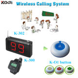 Service Bell System for a Restaurant Fashion Design Wireless Calling Equipment