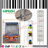 3 Tiers Steel Wire Mesh Lockers for Shoes