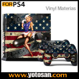Skin Sticker for PS4 System Playstation 4 Console + Controller Decals